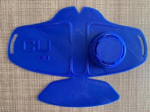 mascarilla 3d reutilizable (colores variados)