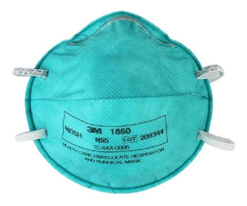 mascarilla 3m 1860 n95 niosh - por mayor y por menor