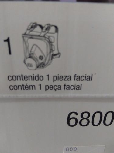 mascarilla 3m  6800 con  filtros incluidos