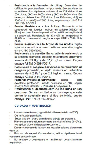mascarilla clinica reutilizable, antifluido