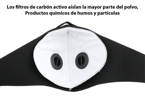 mascarilla con filtro 5 capas ajustable covidmask e004