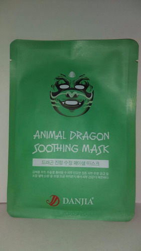 mascarilla coreana dragón