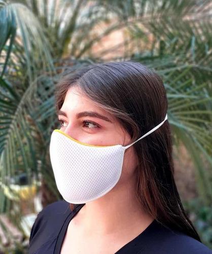 mascarilla cubrebocas no le pasa virus es lavable