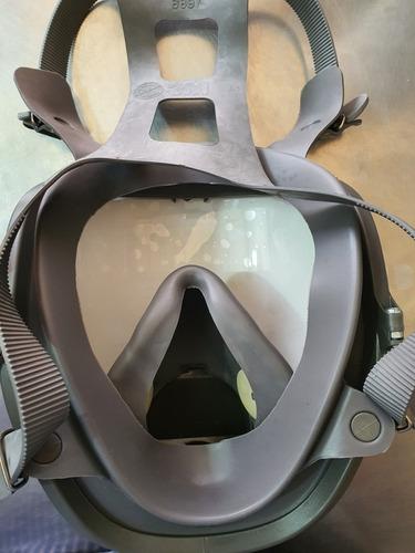 mascarilla de cara completa 3m (filtros completos gratis)