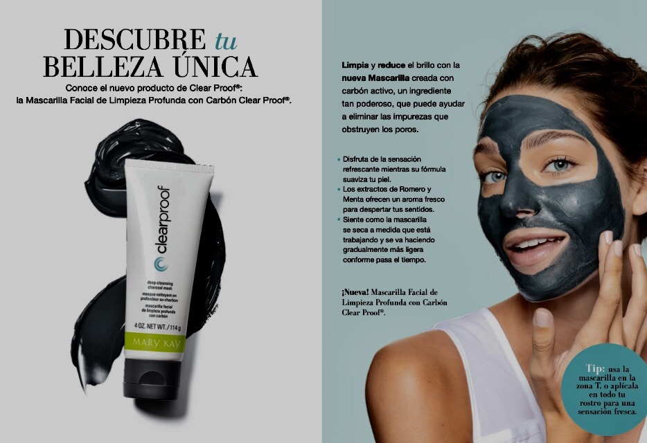 mascarilla de carb u00f3n mary kay