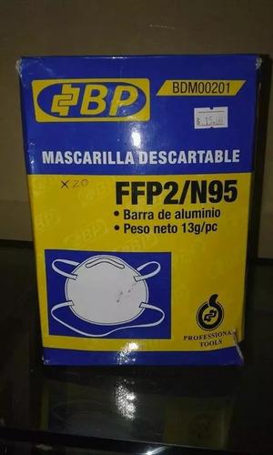 mascarilla descartable marca bp.