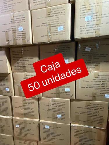 mascarilla desechable 50/caja certificadas envío todo chile