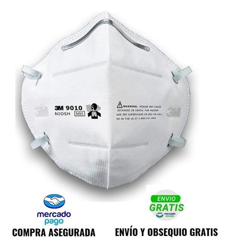mascarilla desechable n95 3m 9010 x20 envío gratis