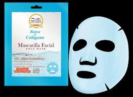 mascarilla facial colágeno nevada,cuidado personal,spa