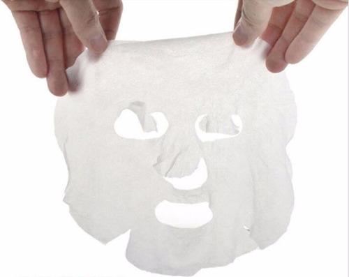 mascarilla facial comprimida de papel - 1 unidad