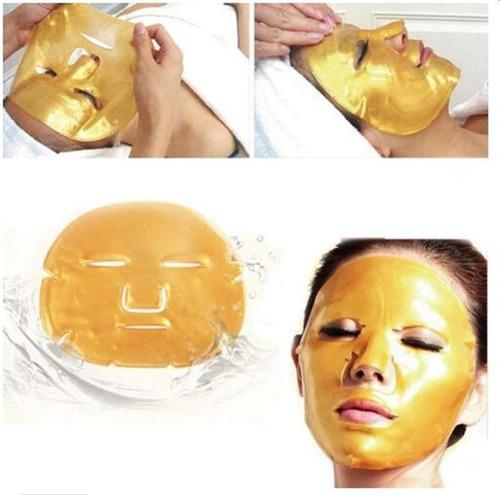 mascarilla facial de colágeno oro blanca negra vino