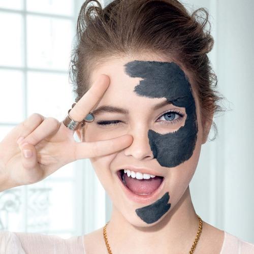 mascarilla facial loreal arcillas puras + carbon