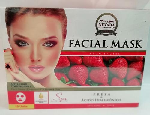 mascarilla facial natural anti arrugas anti acne nevada 30gr
