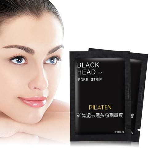 mascarilla facial pilaten black head puntos negros original
