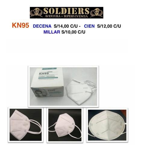 mascarilla kn95 certificada por minsa caja de 1000 unidades