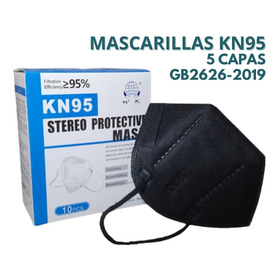 Mascarilla Kn95 Tapa Boca Respirador  Pack 10 Unidades