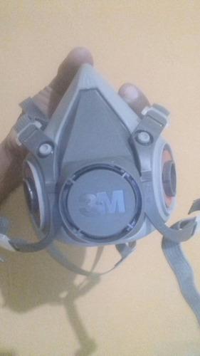 mascarilla media cara 3m con filtro