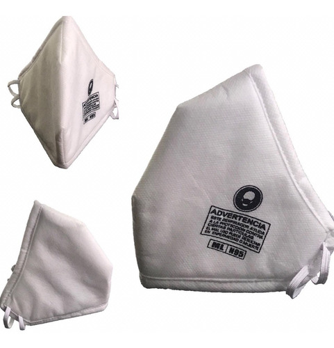 mascarilla n95 nacional lavable reusable excelente calidad