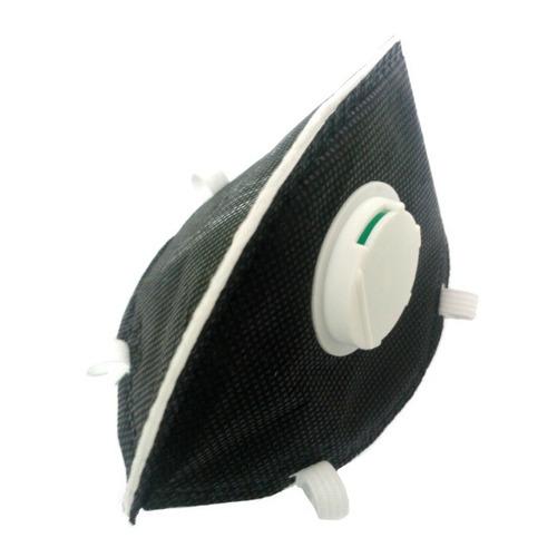 mascarilla n95 niosh respirador valvula life negro x 25 und