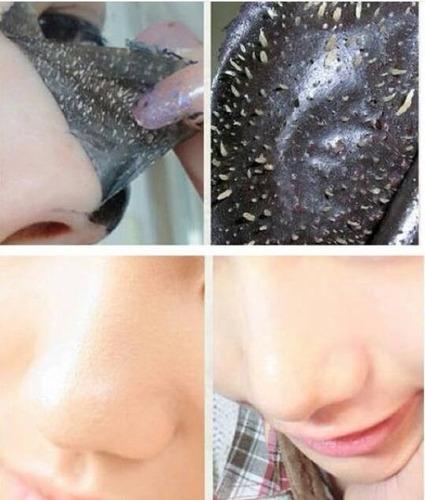 mascarilla negra nevada tipo pilaten+masc colageno labios
