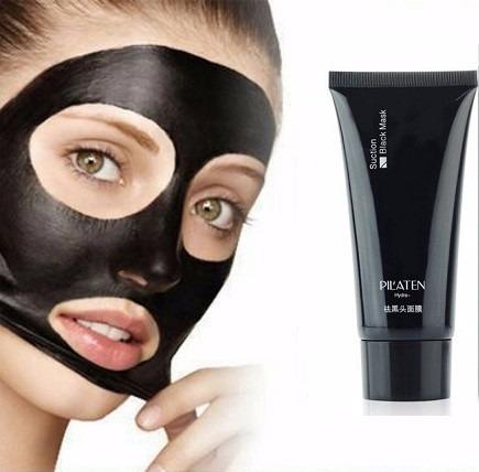 mascarilla negra pilaten anti puntos negros  60gr crema acne