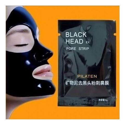 mascarilla negra pilaten caja por 400 unidades limpia  acne