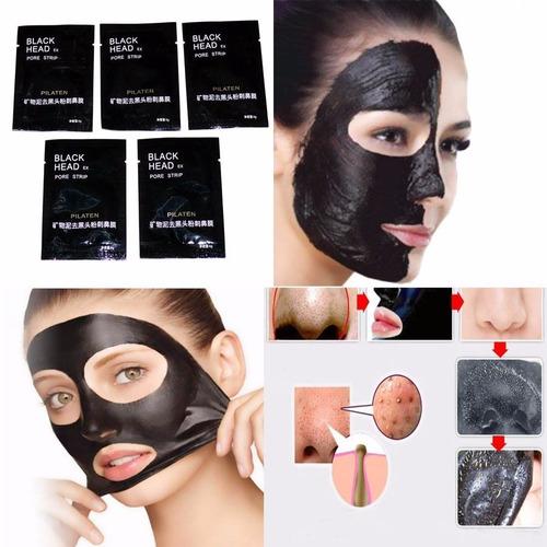 mascarilla negra pilaten remueve puntos negros y  acne promo