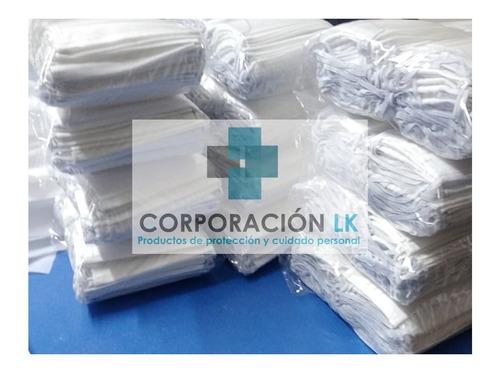 mascarilla notex 160 gr y 3 pliegues - lavable minsa s/ 1,50