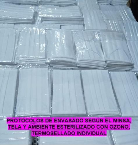 mascarilla notex 160g reusable (minsa) 3 pliegues