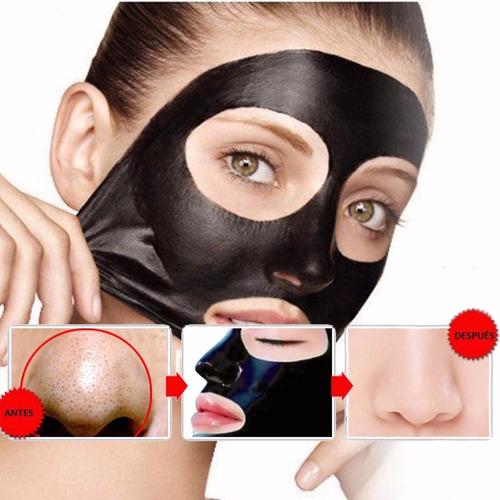 mascarilla para puntos negros acne black mask nevada 120 grs