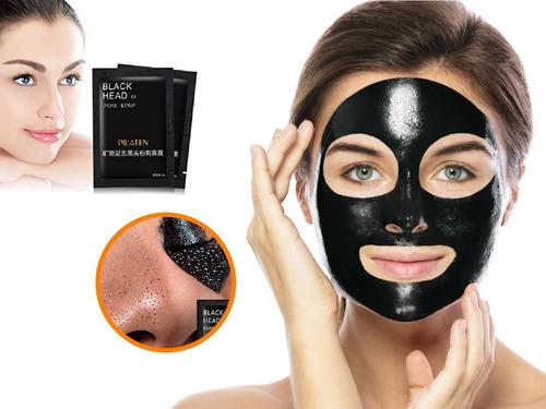mascarilla pilaten facial negra sachet