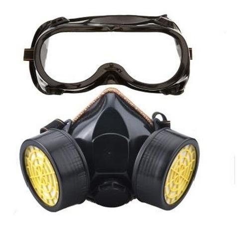 mascarilla respirador con filtro de carbono 1 o 2 filtros