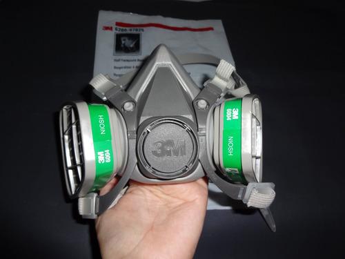 mascarilla / respirador filtros  keratina amoniaco 3m