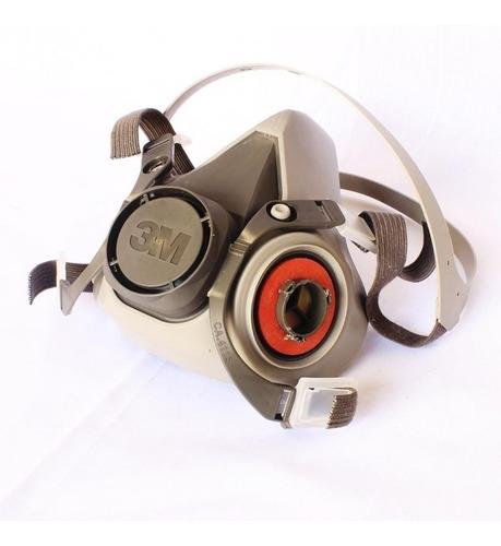 mascarilla / respirador media cara 6200 3m fumigar pintura