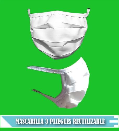 mascarilla tapa boca (reutilizable minsa)