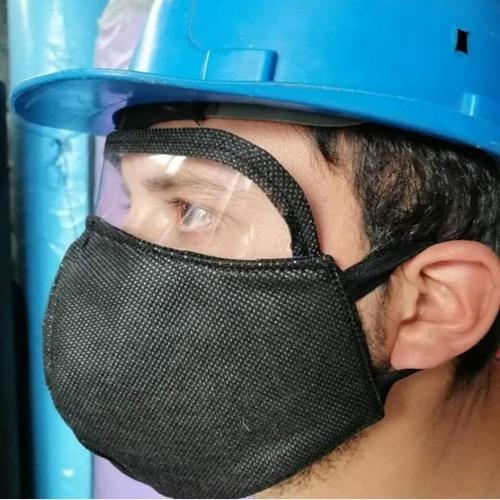 mascarillas con visores diseñada para utilizar hasta 20 días