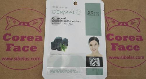 mascarillas coreanas esencia de colágeno hialuronico dermal