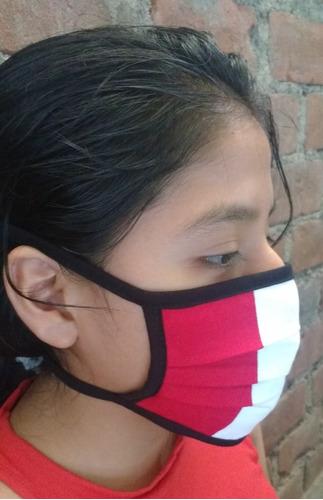 mascarillas de tela según minsa - modelos 1 y 2 - y perú