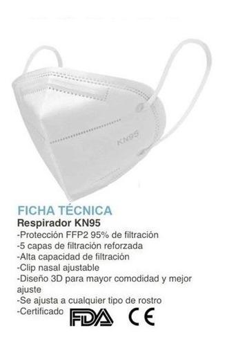 mascarillas kn95 importadas 5 capas proteccion ffp2