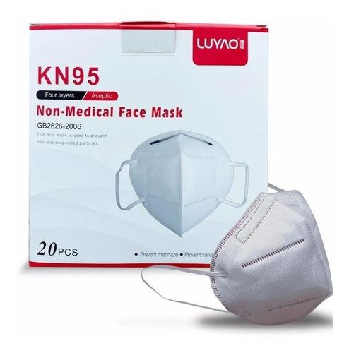 mascarillas kn95 / n95 / caja 20 unid 5capas, ce fda import.
