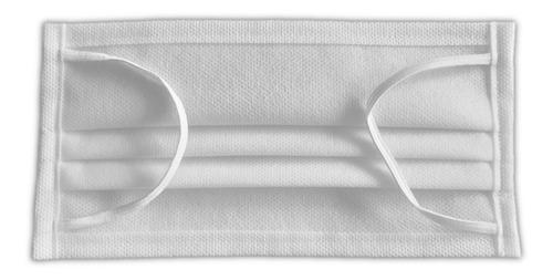 mascarillas lavables doble capa triple pliegue - 160gr minsa