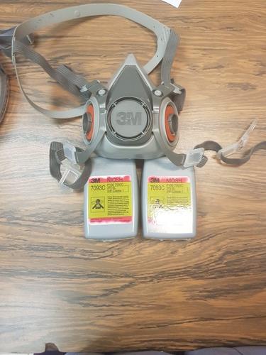 máscarillas msa completa con filtros incluídos modelo 3200