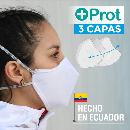 mascarillas  + prot con registro sanitario