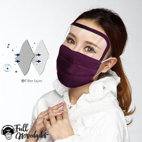 mascarillas protector de ojos 3 pliegues tela quirurgica