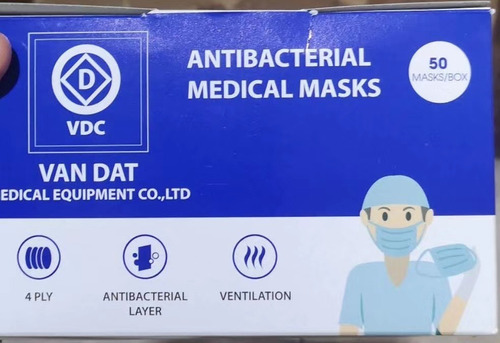 mascarillas quirurgica medical - con reg. san. (4 capas)