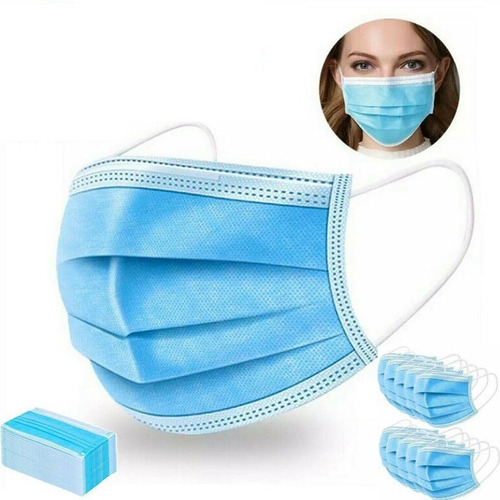 mascarillas quirúrgicas desechables certificadas pack 20 und