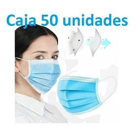 Mascarillas Quirúrgicas Importada Caja X 50 Unidades
