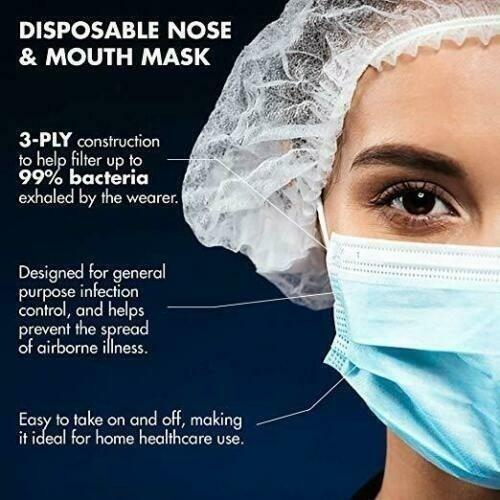 mascarillas quirúrgicas importada,con filtro-cja 50 unidades