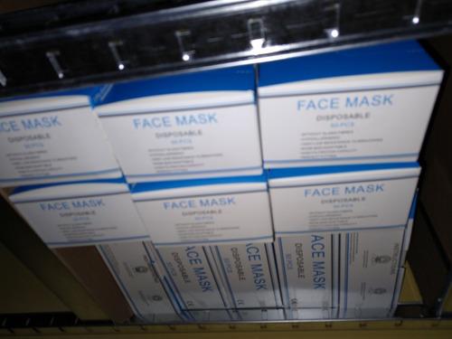 mascarillas tapabocas quirurgicos caja 50 unidades sellada
