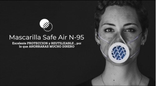 mascarillas/tapabocas safe air n-95